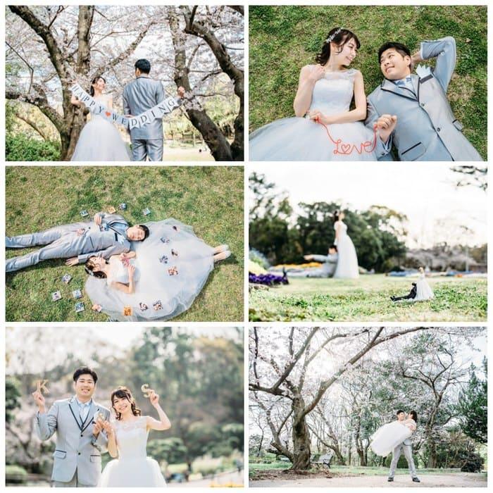 結婚式前撮り撮影