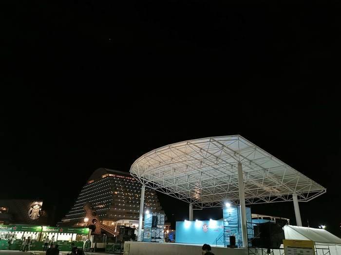 神戸ファンゾーンステージゾーン