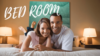 夫婦のベッド